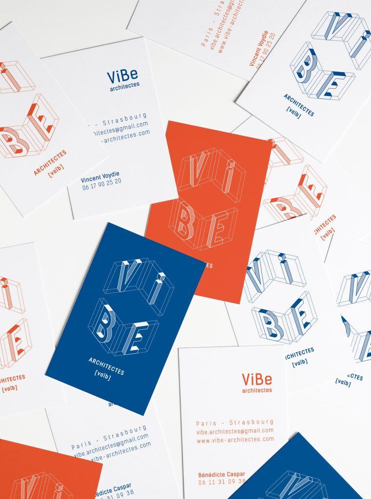 logotype vibe architectes paris-strasbourg